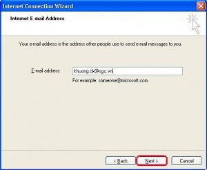 Cai dat Email trong outlook express