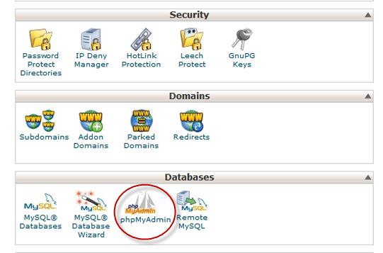 Quan ly mot co so du lieu MySQL voi phpMyAdmin